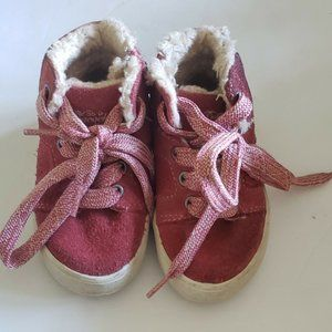 ZARA Baby Toddler Girls Size EU19 US4 Shoes Boots